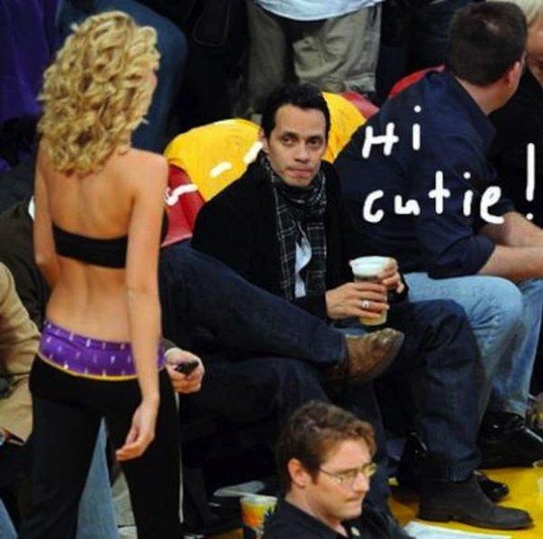 Как знаменитости смотрят на чирлидерш