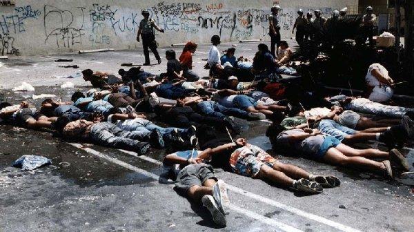 20-летие восстания цветных в Лос-Анджелесе