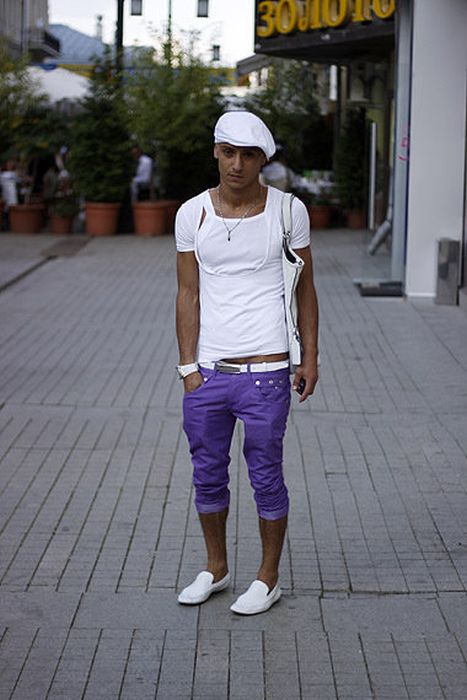 Уличная мода в Москве