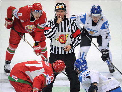 Белорусы проиграли финнам в битве вратарей