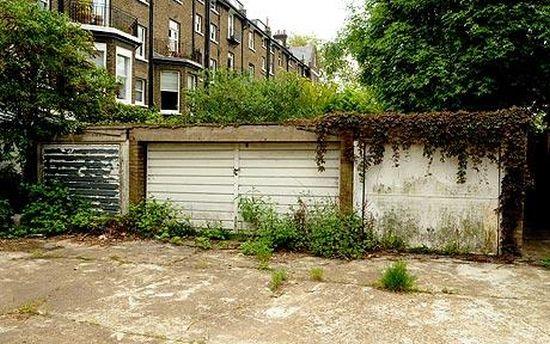 Самый-самый дорогой гараж в Лондоне
