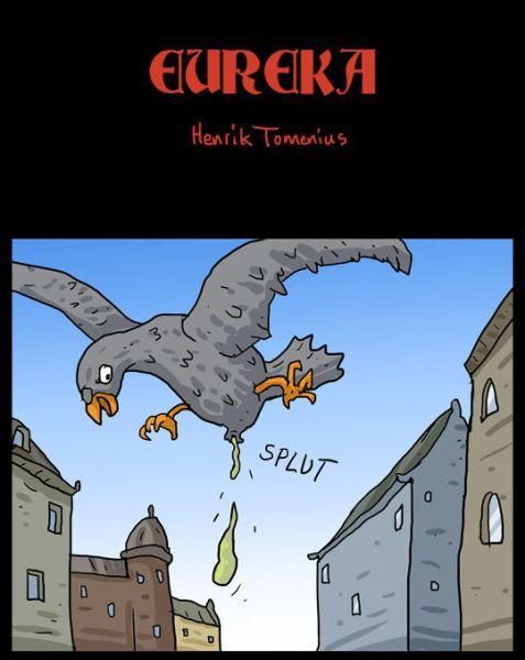 Странный комикс про голубя