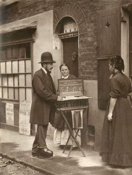 Улицы Лондона 1876-1877