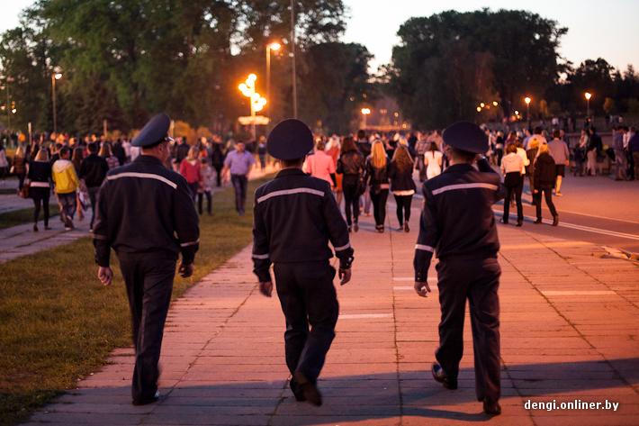 Салют в День Победы в Минске