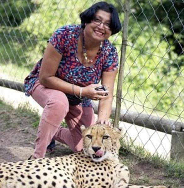 Мужик заснял нападение гепардов на свою жену