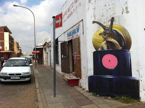 Лучший стрит-арт за апрель 2012