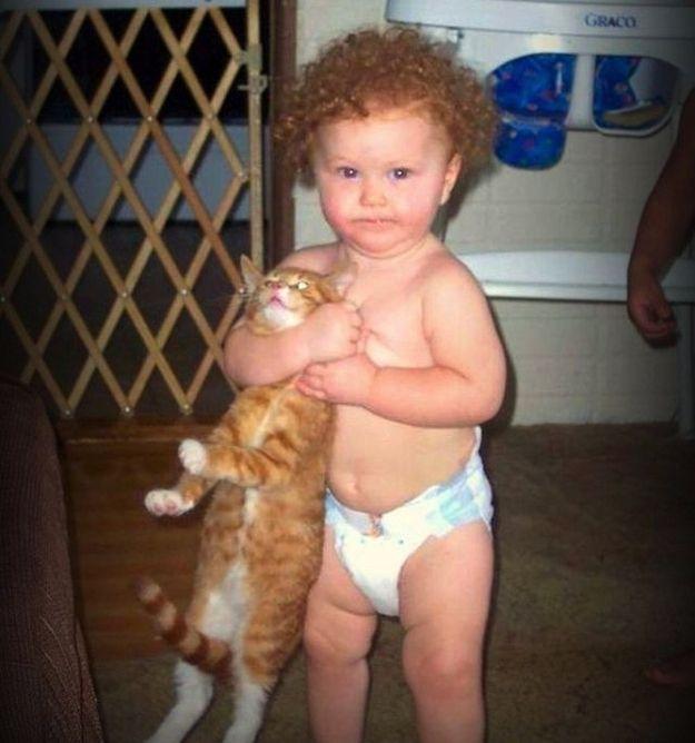 Дети - домашние вредители