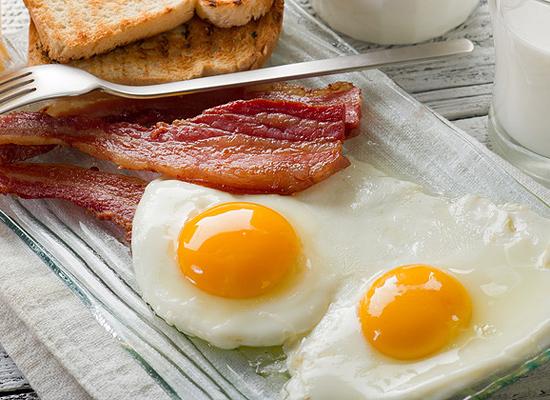 Яйца на завтрак - что надо!