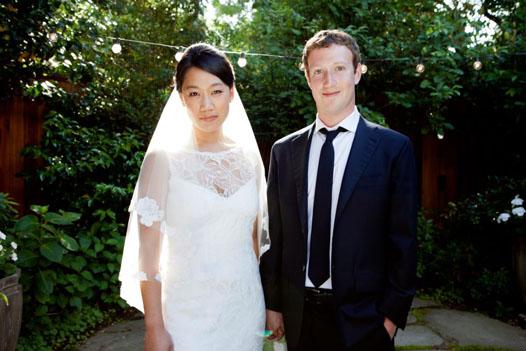 Марк Цукерберг женился!
