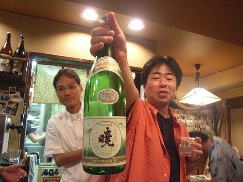 История, как японец Сатоши пил спирт.