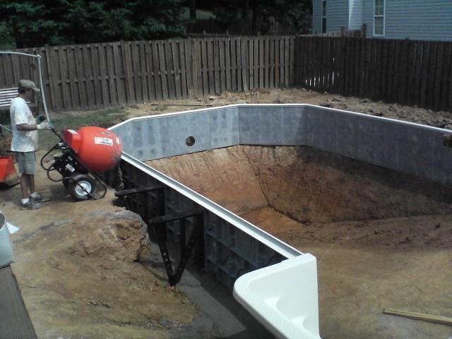 Фото. Дачный бассейн своими руками. (38 фото) ФотоИнтерес