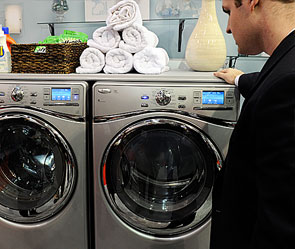 Американец постирал сына в стиральной машине
