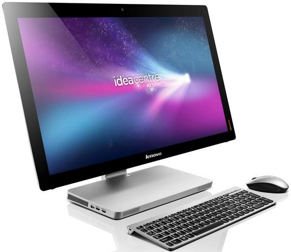 Lenovo IdeaCentre A720 - дорогой моноблок в стиле iMac