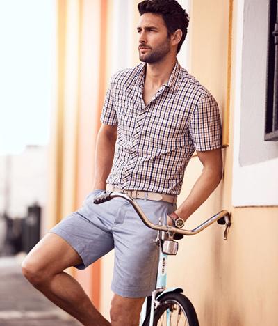 Футболка и шорты: модный look сезона весна-лето 2012