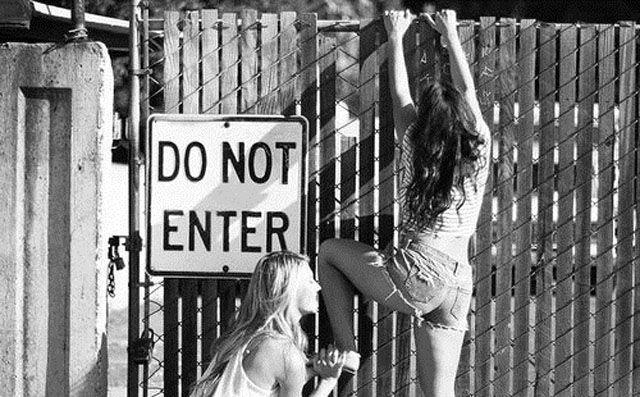 Нарушая запреты!