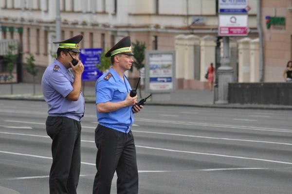 Центр Минска перекроют