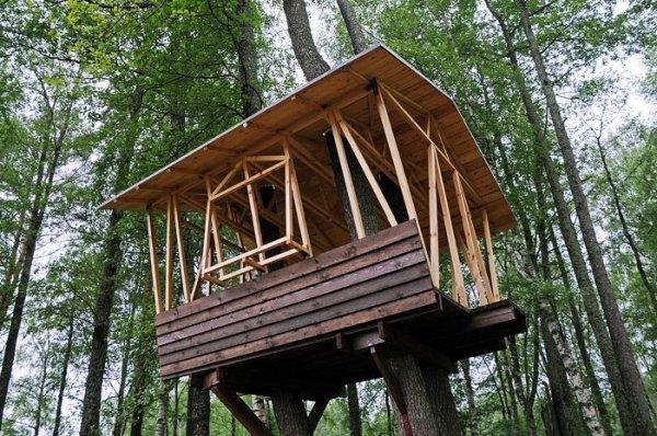 Еще один дом на дереве