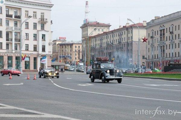 В музей ретро-авто под открытым небом превратится Минск 5 мая