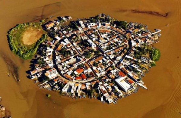 Мексиканский город на воде