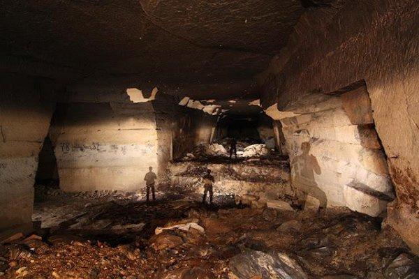 Заброшенный бункер во Франции