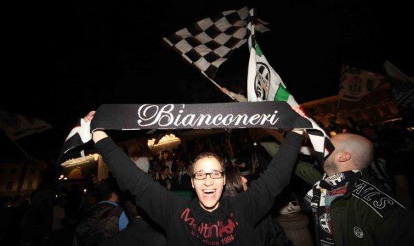 LA JUVENTUS E' CAMPIONE D'ITALIA!