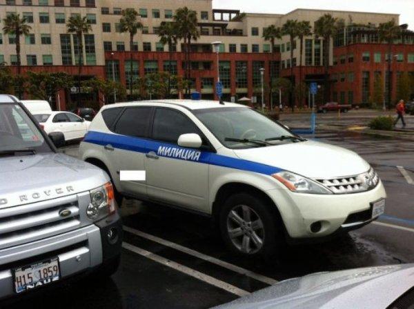 Милиция в Лос-Анжелесе