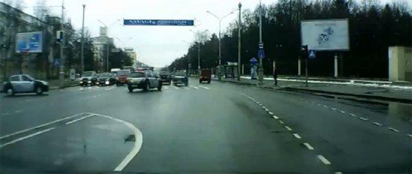 """Задержан водитель """"Мерседеса"""", который в конце марта устроил гонки с ГАИ по улицам Минска"""