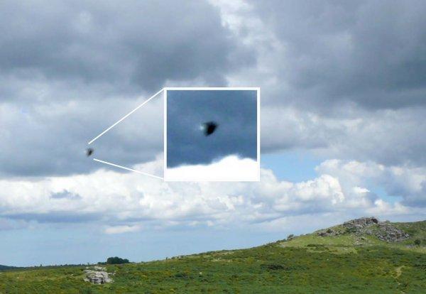 НЛО едва не стал причиной авиакатастрофы