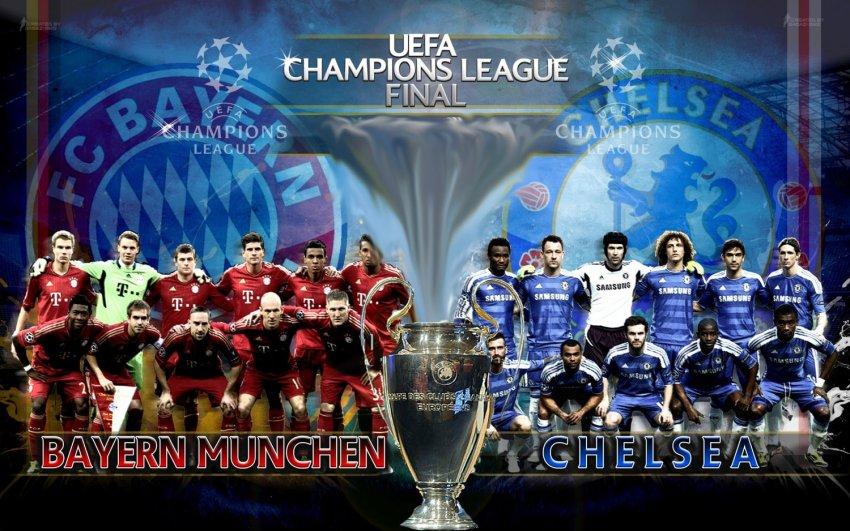 ЛИГА ЧЕМПИОНОВ УЕФА! 2011/12! ФИНАЛ!