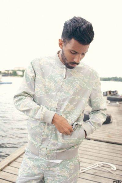 Лукбук летней коллекции одежды марки Wesc