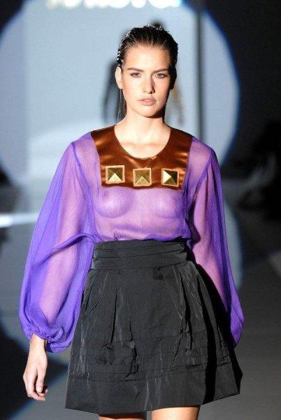 Полуголая мода