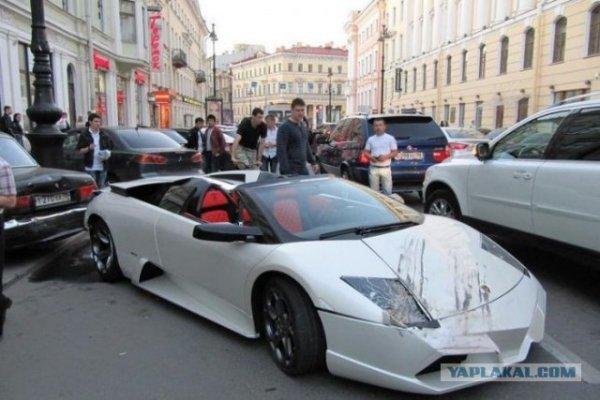 GTA и NFS в Петербурге