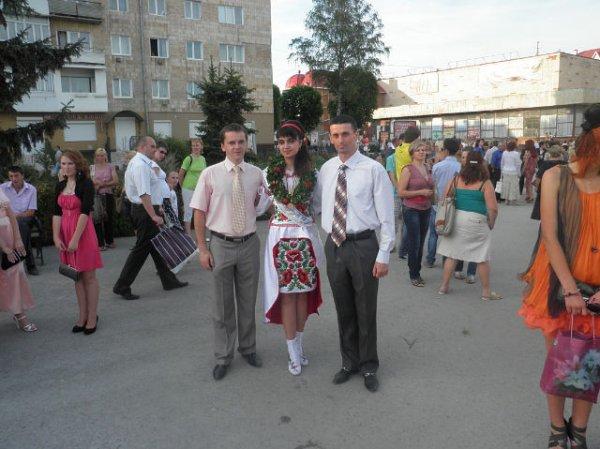 Еще одна выпускница из Украины