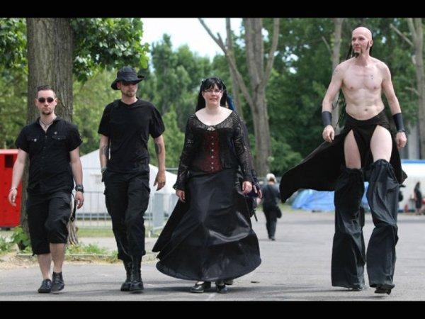 Фестиваль Готов в Лейпциге