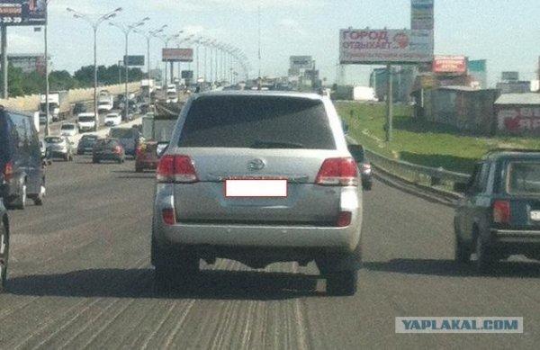 Самоирония водителя джипа
