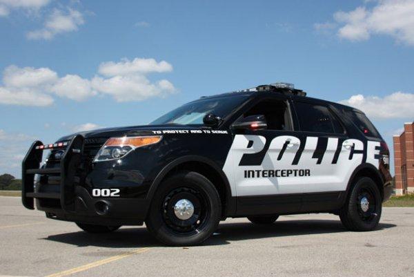 Новые полицейские перехватчики в Калифорнии