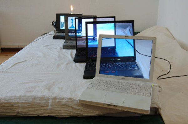 Прозрачные экраны ноутбуков