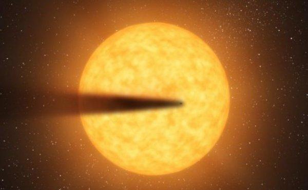 Астрономы обнаружили распадающуюся планету