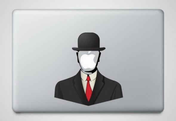 Наклейки для Macbook'а.