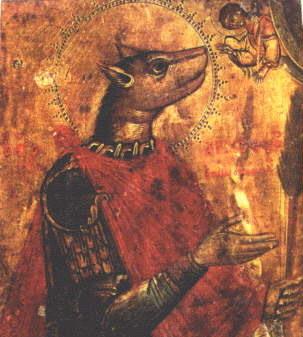 Собакоголовый святой