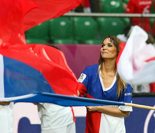 Болельщицы с Евро-2012