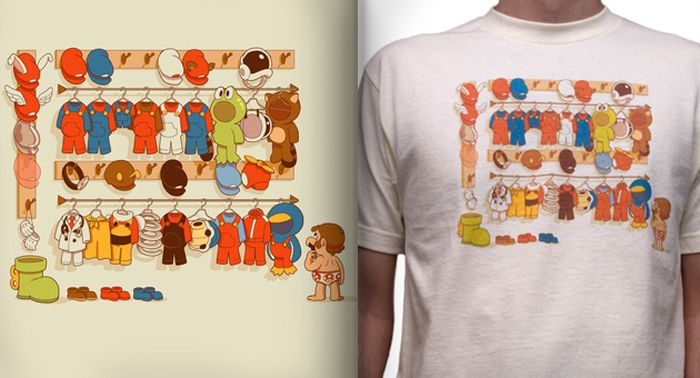 Геймерские футболки