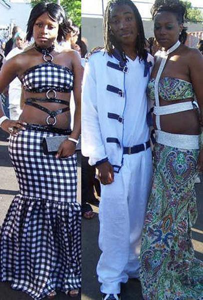 Невероятные наряды выпускников