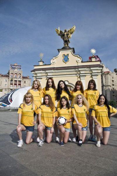 Красивые болельщицы Евро-2012