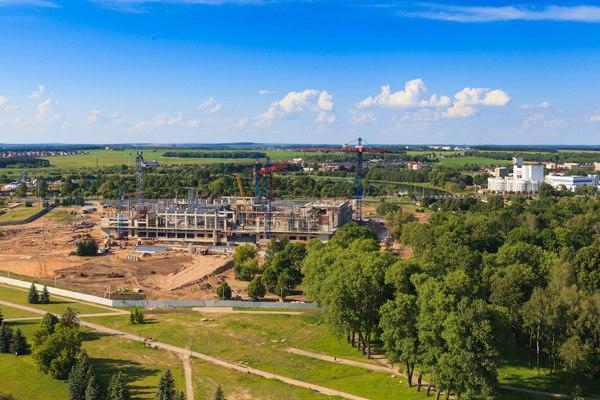 Новая резиденция Лукашенко на берегу Свислочи?