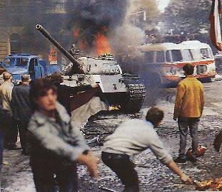 Ретро тема: События в Чехословакии 1968