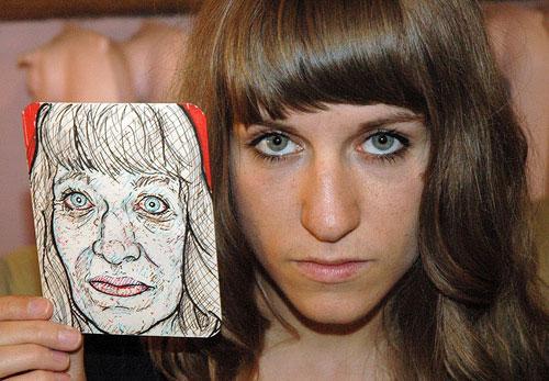 Reverend Aitor рисует необычные портреты