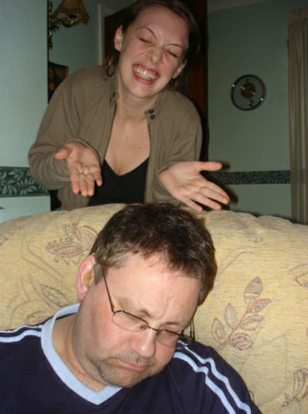 Пьянь такая! Папочки разбушевались