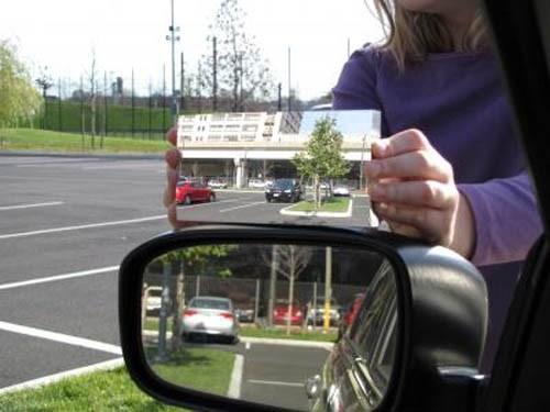 Правильное боковое зеркало в авто