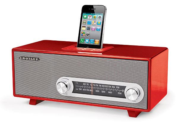 Стильный док с радио для iPhone